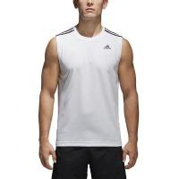 adidas Men's Design 2 Move 3 Stripes Sleeveless T-Shirt Photo