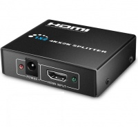 """1"""" 2 Out HDMI Splitter Signal Distributor with 1080P 3D Compatibility Photo"""
