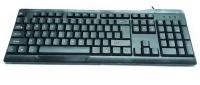 Yama Standard 104 Keys USB Keyboard - Black Photo