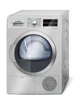 Bosch - 9kg Condensor Tumble Dryer - Silver Photo