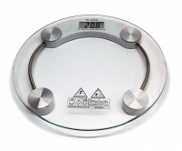Toughened Glass Precision Bathroom Scale with LCD Display Photo