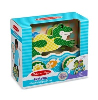 Melissa & Doug First Play Friendly Frogs Pull Toy Photo