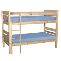 Balmoral Double Bunk Beds - Raw Photo