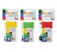 Bulk Pack X 6 Chalk Eraser And Whiteboard Pen Set Photo