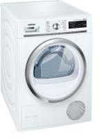 Siemens iQ700 iSensoric Self Cleaning Condenser Tumble Dryer - WT47W540BY Photo