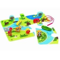 Hape On Safari Play Set Photo