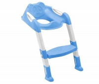 Totland Folding Toddler Potty Training Toilet Ladder - Blue Photo