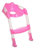 Totland Folding Toddler Potty Training Toilet Ladder - Pink Photo
