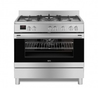 AEG 90cm Gas / Electric Free-Standing Cooker - 10369MM-MN Photo