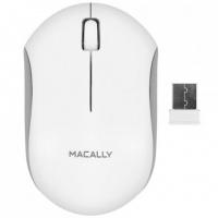 Macally Wireless Optical RF Mouse - White Photo