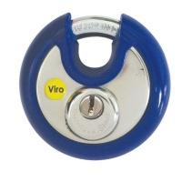 Viro Discus Padlock 70mm Flat Key KA Photo