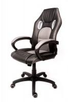 Infinity Homeware Monte Carlo Gaming & Office Chair - Black & Light Grey Trim Photo