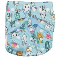 Fancypants Bamboo Cloth Nappy - Owls Photo