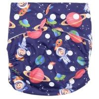 Fancypants Microfibre Cloth Nappy - Spaceman Photo