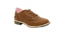 Girls Bubblegummers Fashion Casual shoes- Camel Photo