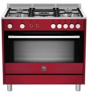 La Germania Europa 90cm Gas Hob & Gas Oven / Gas Grill - Cream Photo
