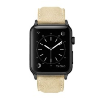 Apple Colton James Leather Strap for Black/Space Grey 38mm Watch - Brown Photo