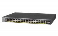 Netgear 52PT Gigabit Ethernet PoE SMART SWITCH. 380W PoE Budget Photo