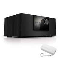 JVC RD-N528B Bluetooth Mini DVD HiFi System 2.0 Bundle Photo