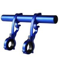 20cm Bike Handlebar Extender - Blue Photo