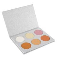 Frissk Beauty - Allure Palette - 6 Colour Highlight Palette Photo