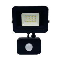 LUXN LED Floodlight 20 Watts - Slim design with motion sensor Photo