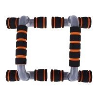 1 Pair Detachable Push-up Stand - Gray & Orange Photo