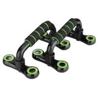 1 Pair Detachable H-Shape Push-up Bars - Green Photo