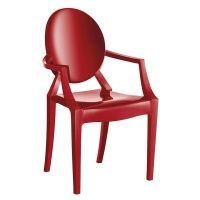 Kalisto Ghost Chair - Red Photo