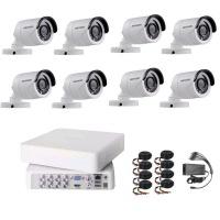Hikvision 720P HD 8 Channel Turbo HD CCTV DIY Kit Photo
