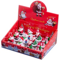 Christmas Winter Tealight Candles - 12 Pack Photo
