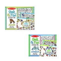 Seek and Find Sticker Pads Set of 2 Photo