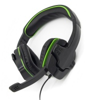 Sparkfox : SF1 Stereo Headset - Black and Green Photo
