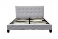 Fine Living - Ashton Bed Unit - White PU Photo