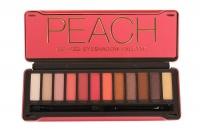 12 Palette Eyeshadow Tin Peach Photo