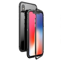 Magnetic Adsorption Phone Cover for iPhone XS\X Photo
