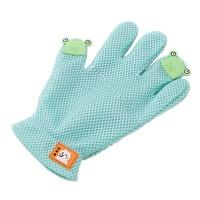 Cartoon Pet Grooming Glove - Green Photo