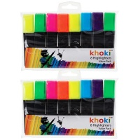 8 Assorted Highlighters - 2 Pack Photo