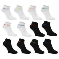 Donnay Juniors Crew Socks 12 Pack - Bright Assorted Photo