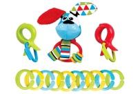 Yookidoo - Clips Rattle 'N Links - Dog Photo