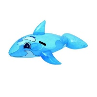 Pool Toy Whale Rider Photo