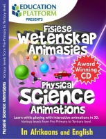 Physical Science 3D Animation CD Photo