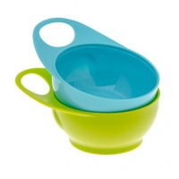 Brother Max - 2 Easy Hold Bowls - Blue - Set Of 2 Photo
