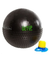 GetUp Beam 65cm Yoga Ball With Massage Dots And Pump - Black Photo
