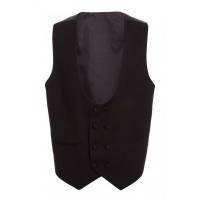 Quiz Women Black Suit Waistcoat - Black Photo