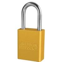American Lock 1106 Aluminium Padlock Yellow Photo