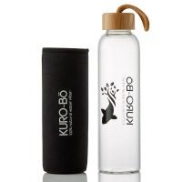 KURO-Bo Go-Eco Glass Water Bottle Photo