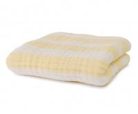 Fox Fable - 6-Layer Muslin Dream Blanket - Yellow Photo