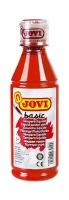 Jovi: Basic Liquid Poster Paint Bottle 250ml Red Photo