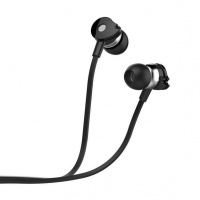 Astrum Wired Stereo Earphones with In-line Mic - Black Photo